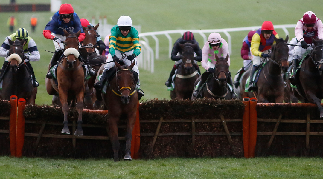 Old Guard wins the Greatwood Hurdle