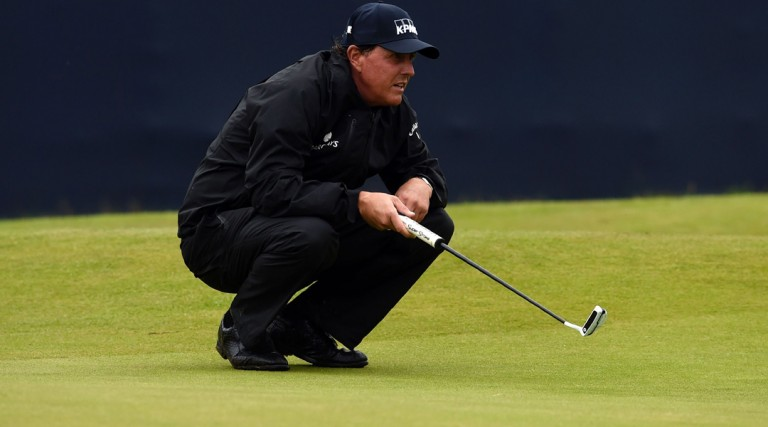 Phil Mickelson Open Championship Betting Odds