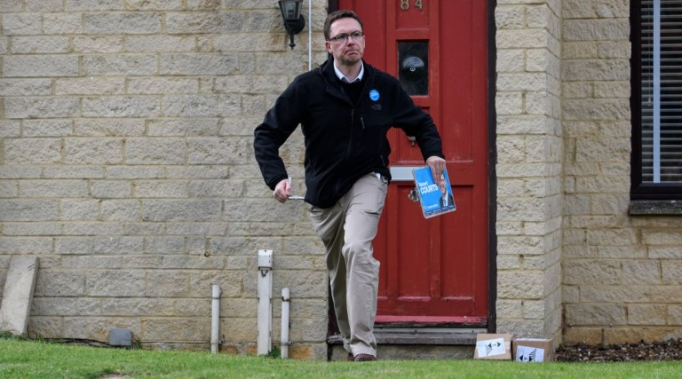 Witney by-election candidate Robert Courts