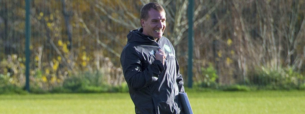 Brendan Rodgers - Celtic manager