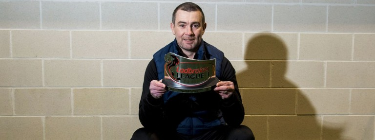 Barry Smith - East Fife - Ladbrokes League 1 Manager of the Month