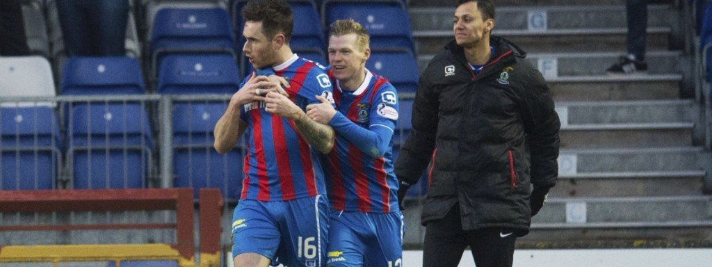 Greg Tansey and Billy McKay - Inverness Caledonian Thistle