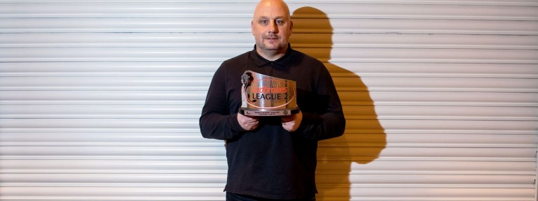 Gary Bollan - Ladbrokes League 2 Manager of the Month