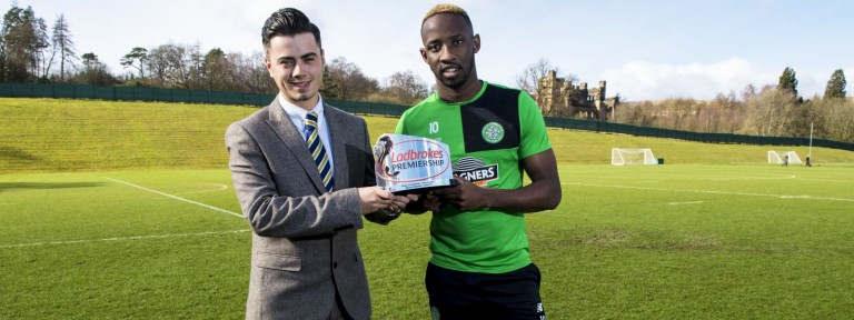 Moussa Dembele - Ladbrokes Premiership Player of the Month