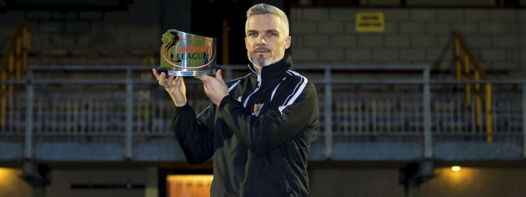 Jim Goodwin - Alloa Athletic - Ladbrokes Manager of the Month