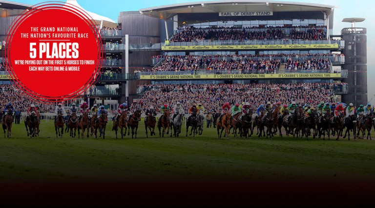 2017 Grand National - 5 places - Ladbrokes