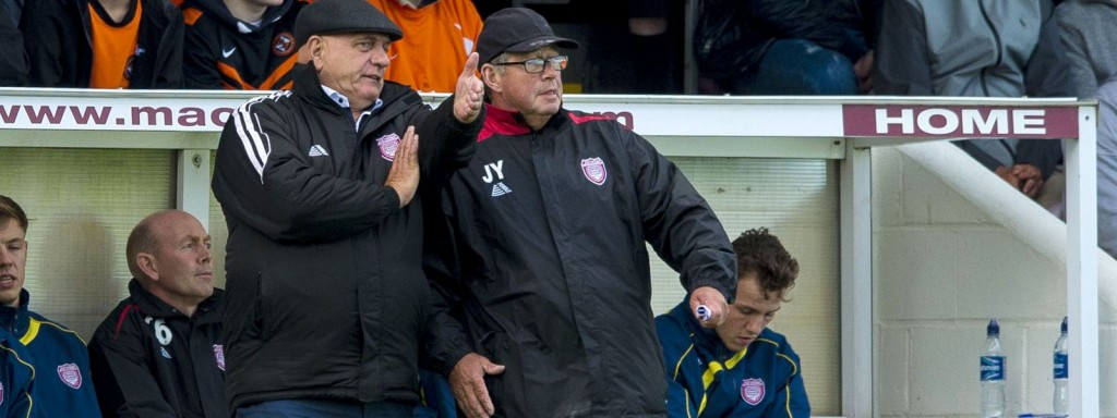Dick Campbell - Arbroath manager