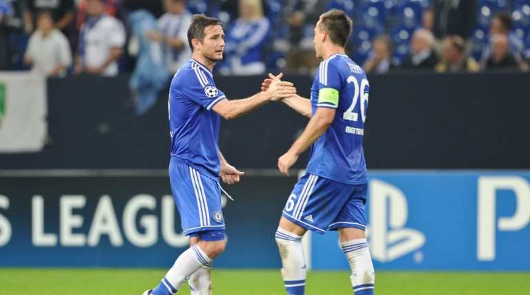 Frank Lampard and John Terry Chelsea