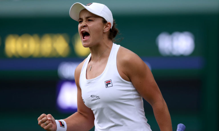 Ashleigh Barty is the favourite in the outright Wimbledon women's odds