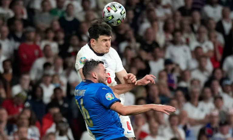Harry Maguire, Bryan Cristante, England v Italy, best team of the Euros