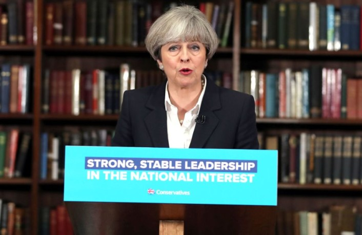 Time up for Theresa? Odds slashed on PM leaving in 2019